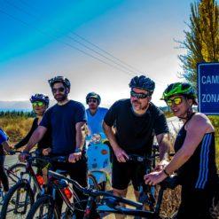 Bike throught the vineyards