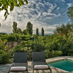 Cavas Wine Lodge Terrace