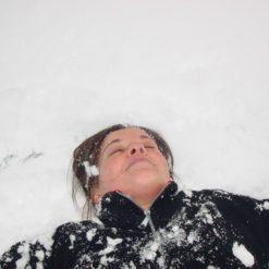excursión de nieve