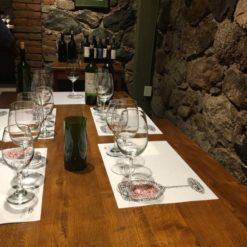 Clase de degustación de vinos.