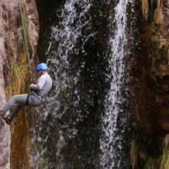 Trekking with Rapelling