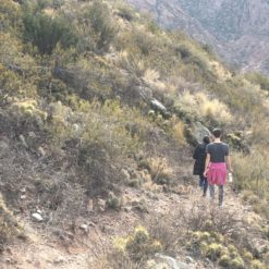 aventura de trekking