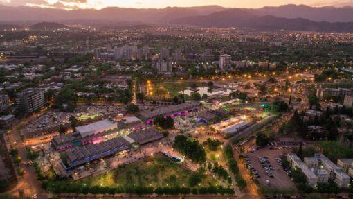 Vista a la Ciudad de Mendoza